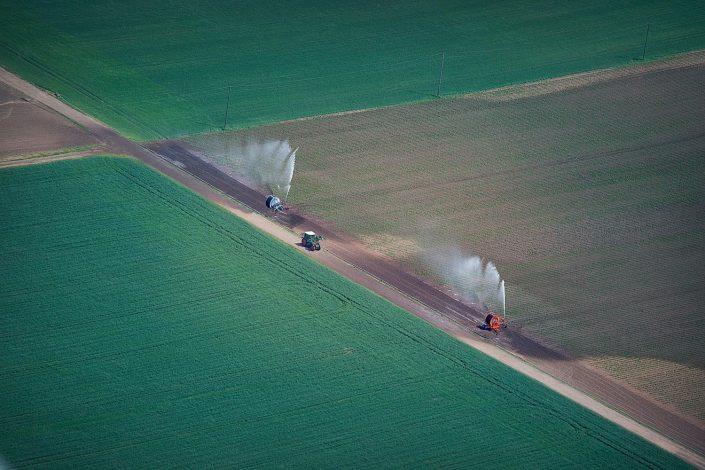 Die Luftbildfotografie ist ein wichtiger Teilbereich der Industriefotografie.